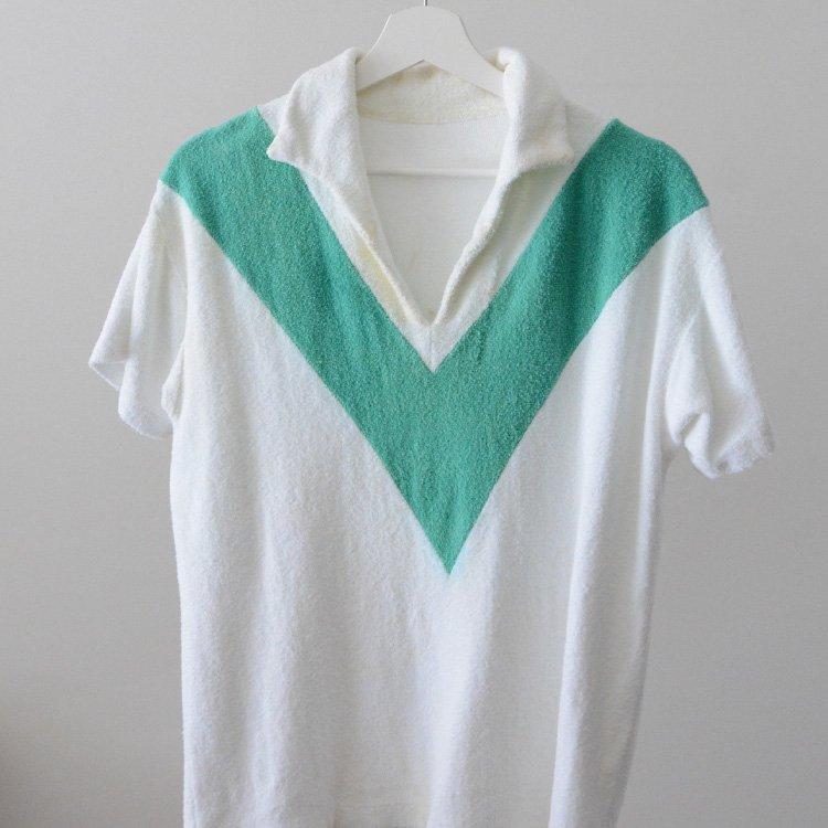 Pile Shirt Skipper Japan Vintage 60s | スキッパー パイル シャツ ジャパンヴィンテージ 60年代
