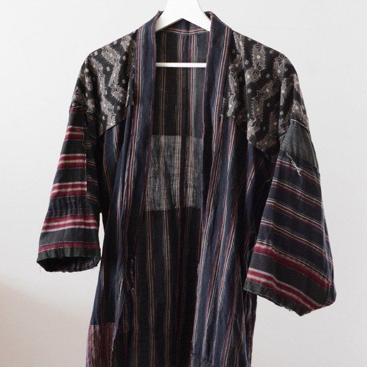 Japanese Boro Kimono Noragi Jacket Uwappari Crazy Patchwork | 襤褸 野良着 上っ張り つぎはぎ ジャパンヴィンテージ 30〜40s