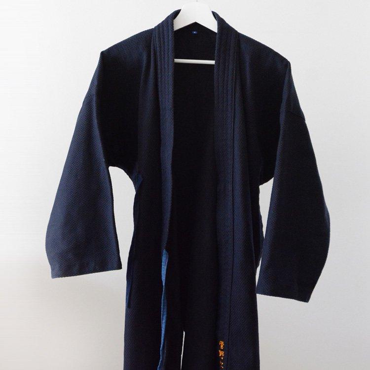 Kendo Jacket Cotton Sashiko Fuji Daruma Japanese Sportwear   剣道着 刺し子 フジダルマ