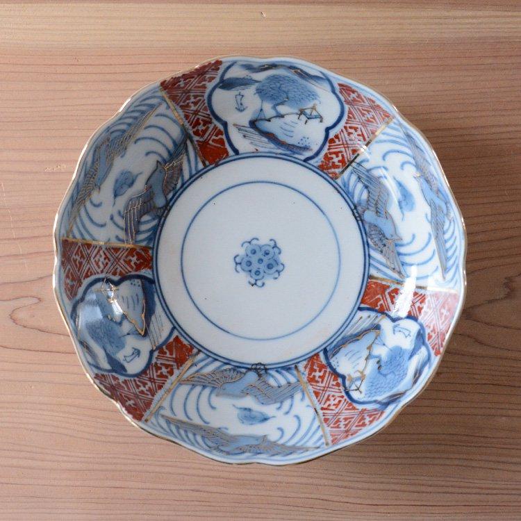 中鉢 和食器 煮物 骨董 ジャパンヴィンテージ 陶器   Tableware Japan Vintage