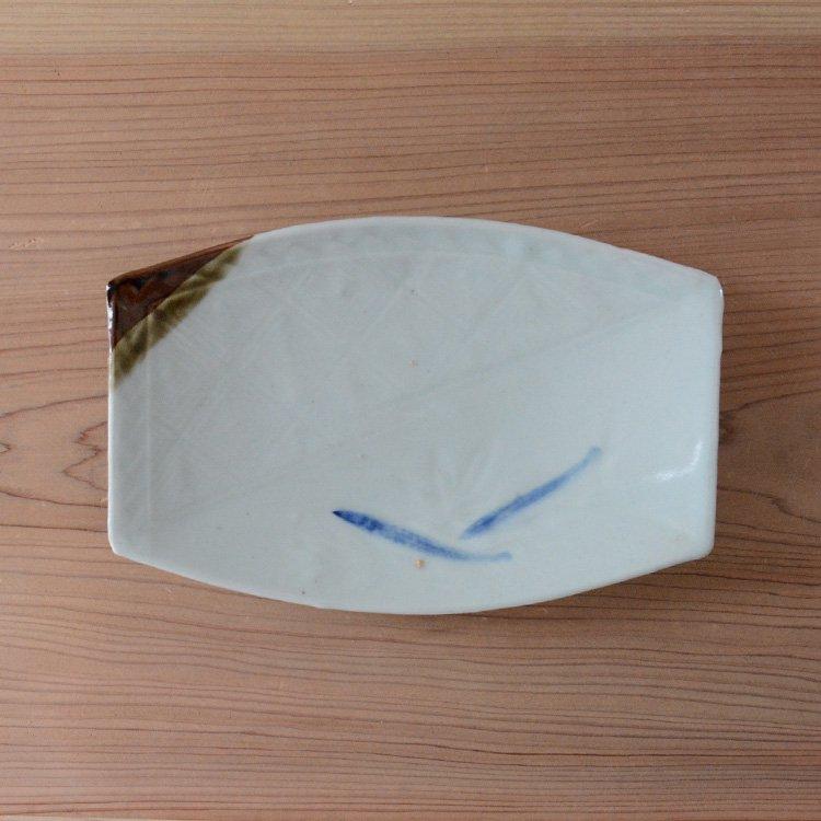 焼物皿 和食器 もみじ 魚 刺身 骨董 ジャパンヴィンテージ 陶器 | Tableware Japan Vintage