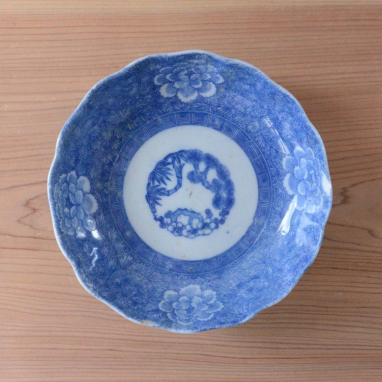 中鉢 和食器 花 木 骨董 ジャパンヴィンテージ 陶器 | Tableware Japan Vintage