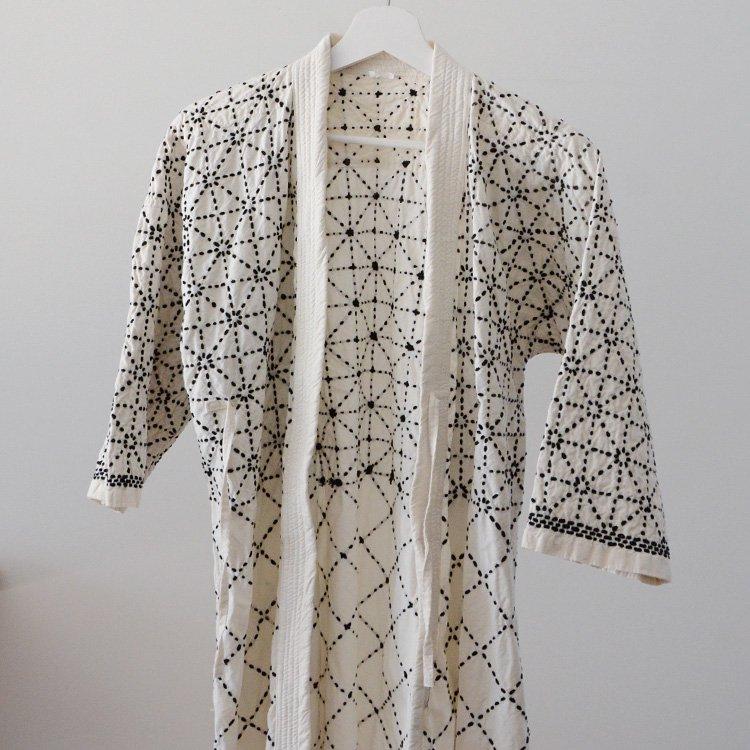 Kendo Jacket Sashiko Fabric Cotton Japan Vintage   剣道着 刺し子 ジャケット ジャパンヴィンテージ 平成
