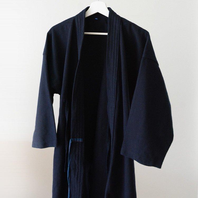 Kendo Jacket Japanese Sashiko Cotton Fuji Daruma Size 4   剣道着 刺し子 フジダルマ 4号