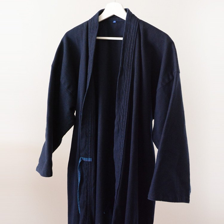 Kendo Jacket Japanese Sashiko Cotton Fuji Daruma Size 5 | 剣道着 刺し子 フジダルマ 5号