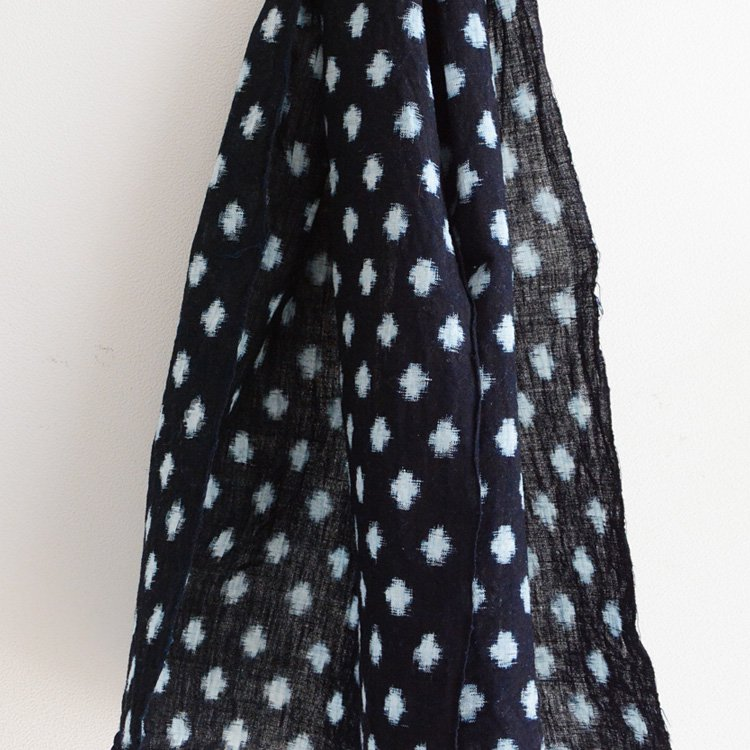 Aizome Kasuri Fabric Indigo Kofu Japan Vintage 30s Old Cloth   古布 はぎれ 藍染 絣 ジャパンヴィンテージ