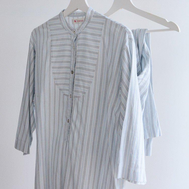 フィッシャーマンシャツ風 パジャマ セットアップ ジャパンヴィンテージ   Fisherman Style Pajama Set Up Japan Vintage