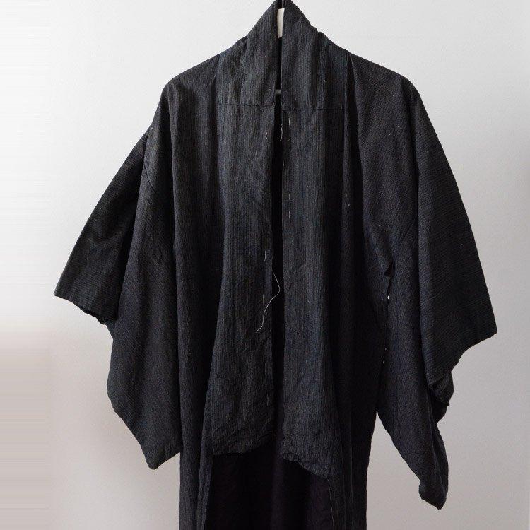 Kimono Japan Vintage Stripe Fabric 30〜40s | 着物 ジャパンヴィンテージ 縞模様 30〜40年代