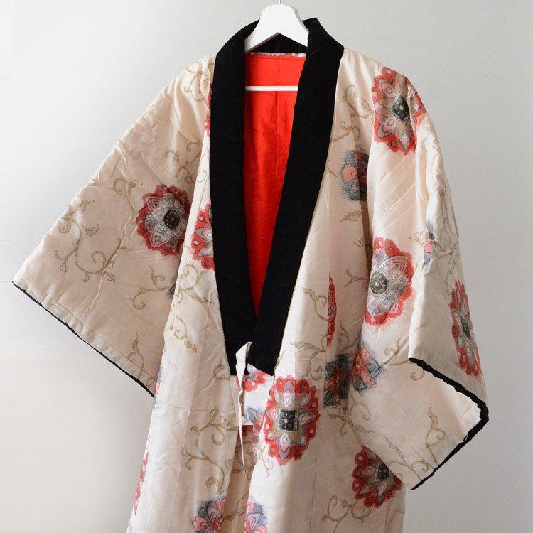Hanten Padded Kimono Jacket Japan Vintage 50〜60s   ねんねこ 綿入れ半纏 ジャパンヴィンテージ 着物