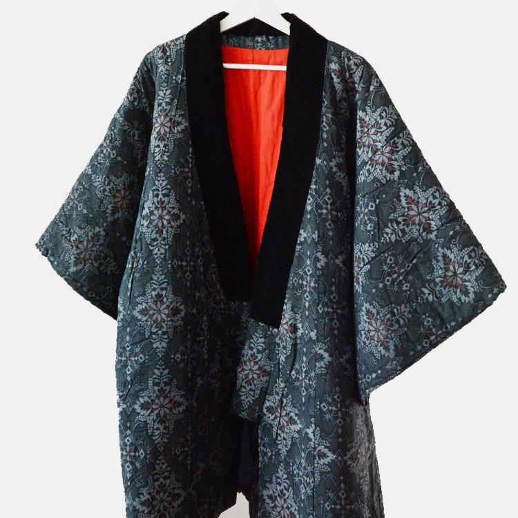 Hanten Jacket Winter Padded Japan Vintage Nenneko Kimono 50〜60s   ねんねこ 綿入れ半纏 ジャパンヴィンテージ 着物