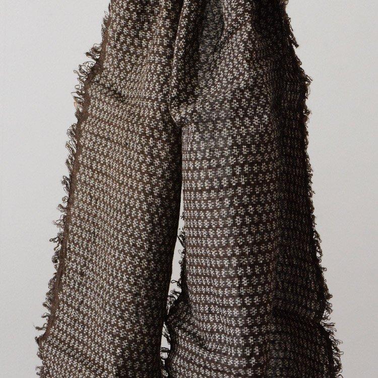 古布 反物 はぎれ 柄入り ジャパンヴィンテージ スカーフ〜ストール | Japanese Fabric Kofu Vintage Textile Scarf Stole Old Cloth