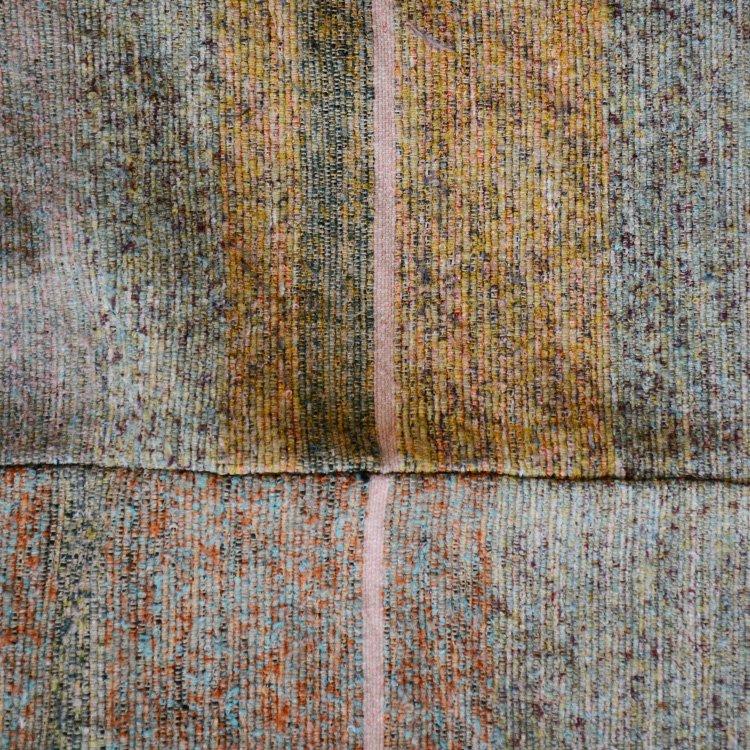 裂き織り 古布 ジャパンヴィンテージ ファブリック マルチ テキスタイル 大判   Sakiori Japanese Fabric Vintage Cloth Old Textile