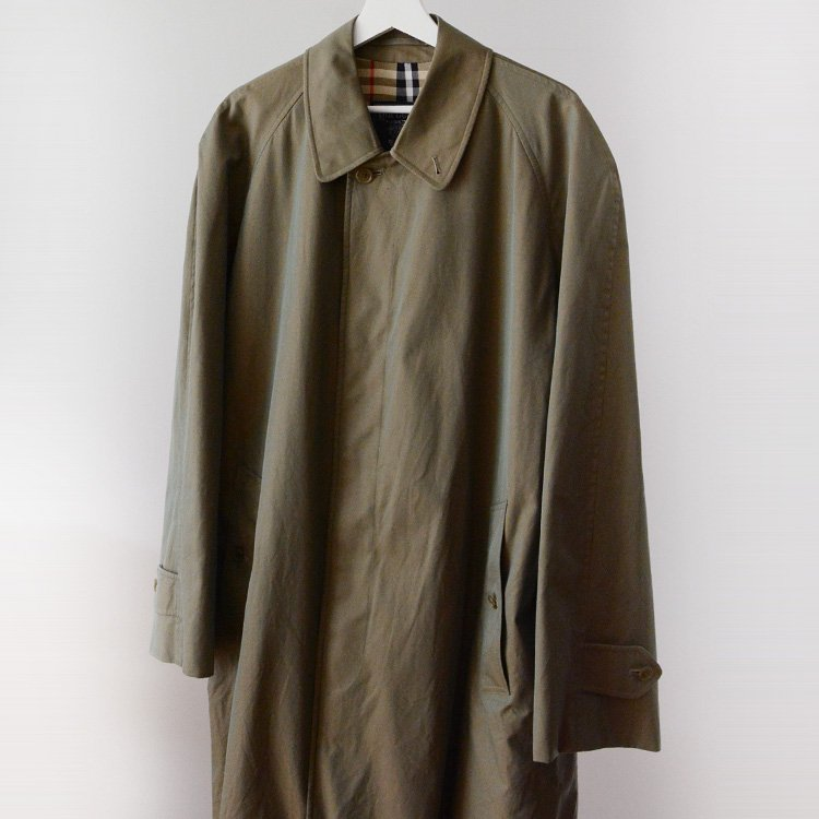 バーバリー 二枚袖 ステンカラーコート ジャパンヴィンテージ 玉虫色 三陽商会 | Burberrys Japan Vintage Cotton Coat 80s Sanyo