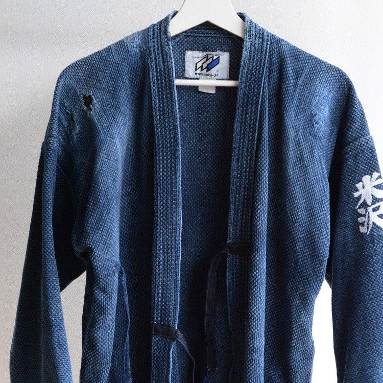 剣道着 藍染 襤褸 リペア 木綿 ジャパンヴィンテージ 昭和〜平成 | Kendo Gi Boro Jacket Indigo Blue Aizome Japan Vintage