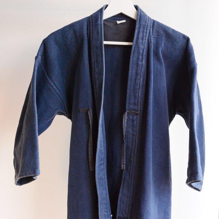 剣道着 刺し子 コットン ジャパンヴィンテージ 松勘 一重 昭和 | Kendo Gi Sashiko Jacket Cotton Japan Vintage Matsukan