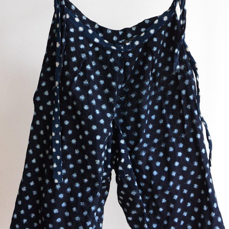 もんぺ 絣 雪ん子 藍染 パンツ 木綿 ジャパンヴィンテージ 30年代 | Monpe Pants Kasuri Indigo Aizome Cotton Japan Vintage 30s
