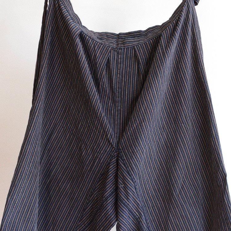 もんぺ パンツ 木綿 縞模様 ジャパンヴィンテージ 30〜40年代 | Monpe Kimono Pants Japan Vintage Cotton Stripe 30s 40s