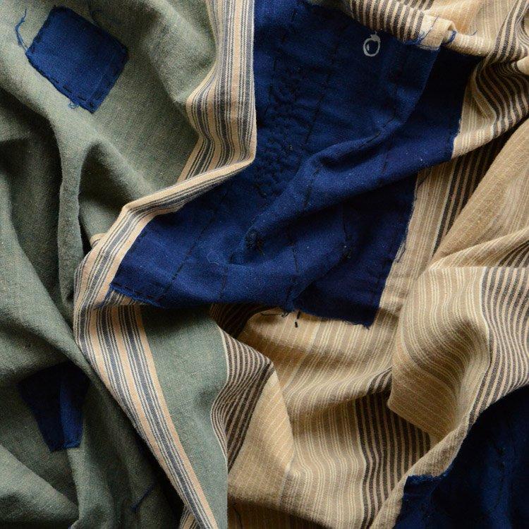 襤褸 刺し子 古布 つぎはぎ 風呂敷 ジャパンヴィンテージ 昭和 | Japanese Fabric Furoshiki Vintage Boro Patchwork Cotton