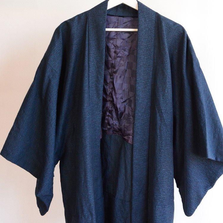 羽織 着物 男 古着 ジャパンヴィンテージ 昭和   Haori Men Kimono Jacket Japan Vintage