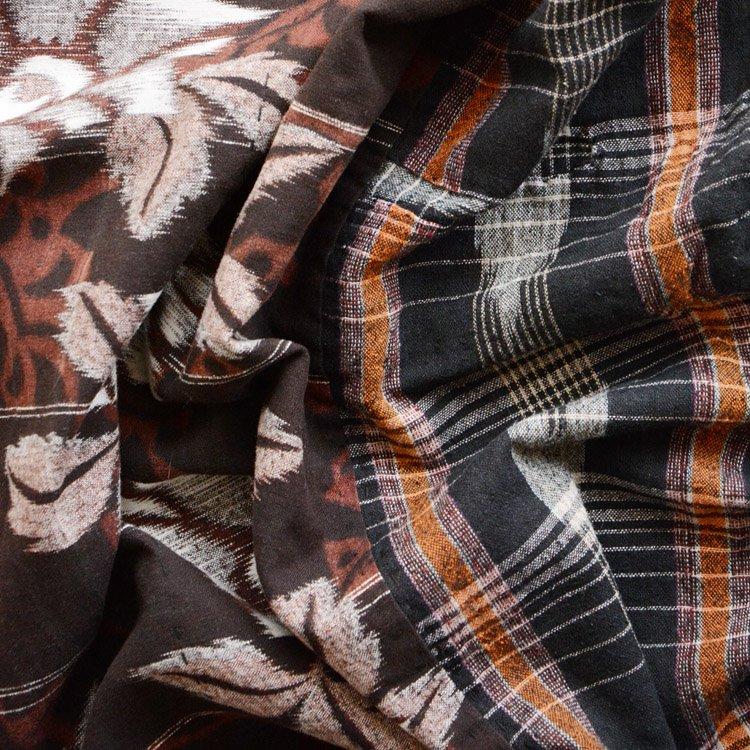 古布 矢絣 木綿 ジャパンヴィンテージ マルチパターン 昭和 | Japanese Fabric Vintage Kasuri Multi Pattern Textile
