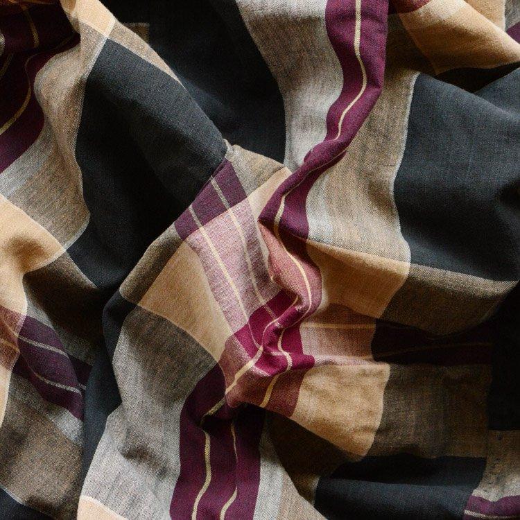 布団皮 襤褸 木綿 ジャパンヴィンテージ ファブリック リメイク素材 | Japanese Fabric Vintage Boro Textile Cotton