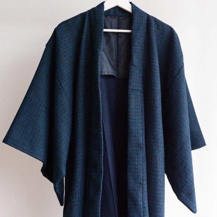 着物 ジャパンヴィンテージ 長着 アンティーク 昭和後期   Kimono Coat Japan Vintage Mix Color Antique Long Type