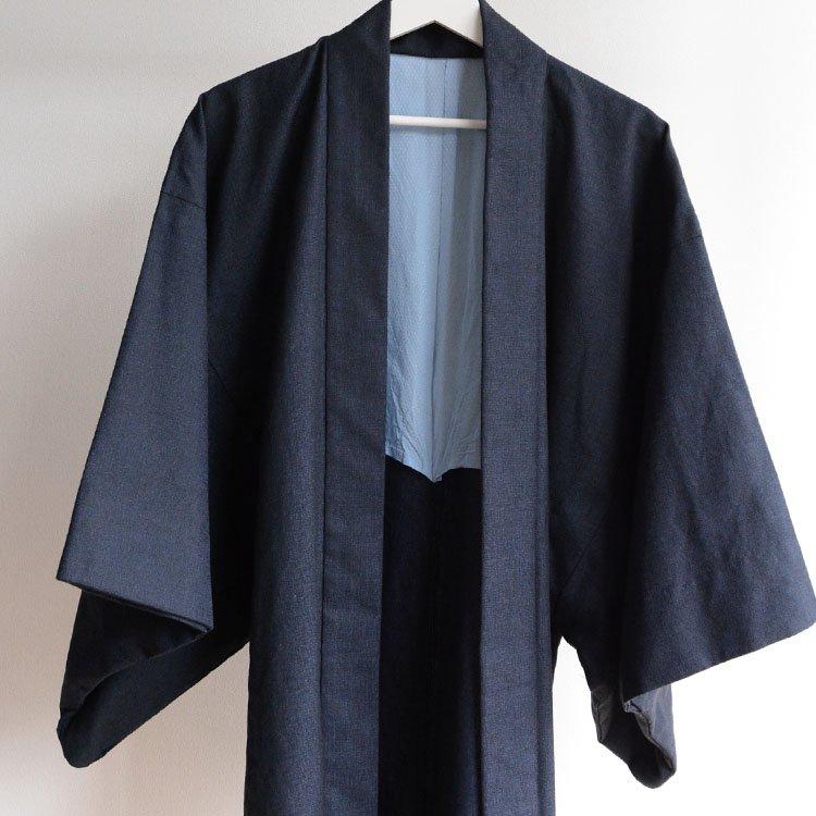 羽織 男 着物 ジャケット ジャパンヴィンテージ 昭和 平成   Haori Men Kimono Jacket Japan Vintage Showa Heisei