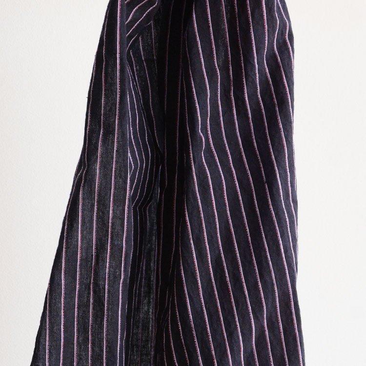 古布 はぎれ 木綿 縞模様 ジャパンヴィンテージ スカーフ 昭和 2   Japanese Fabric Vintage Scarf Cotton Stripe Scraps