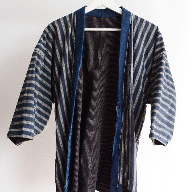 野良着 古着 藍染 襤褸 刺し子 ジャパンヴィンテージ 大正 昭和初期 | Noragi Jacket Japan Vintage Boro Sashiko Indigo Kimono 20〜30s