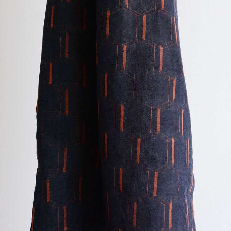 古布 絣 ジャパンヴィンテージ ファブリック 亀甲 ほどき | Kasuri Fabric Kimono Scraps Japan Vintage Old Cloth 2