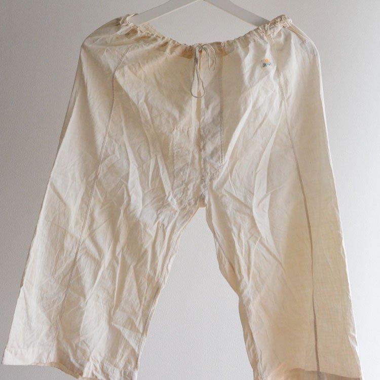 ステテコ コットン パンツ 襤褸 ジャパンヴィンテージ 50〜60年代 | Steteco Cotton Pants Japan Vintage Boro 50〜60s