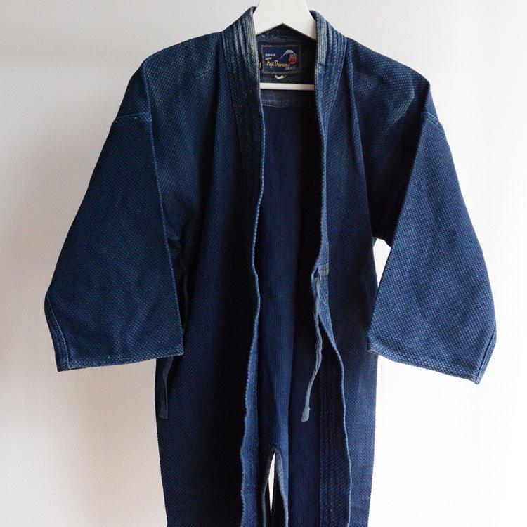 剣道着 刺し子 藍染 木綿 ジャパンヴィンテージ | Kendo Jacket Sashiko Indigo Blue Japan Vintage Cotton