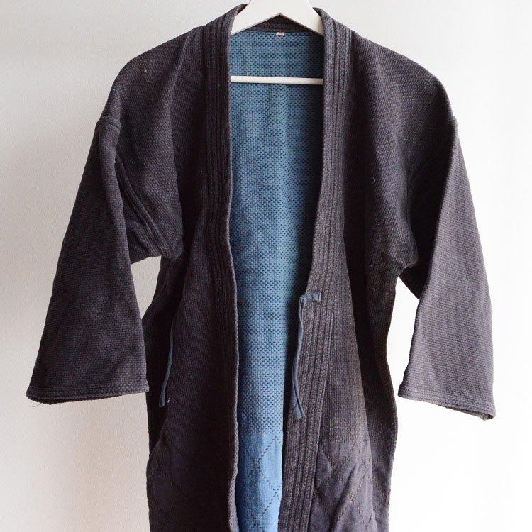 剣道着 刺し子 二重 木綿 ジャパンヴィンテージ 平成 | Kendo Jacket Sashiko Fabric Cotton Japan Vintage