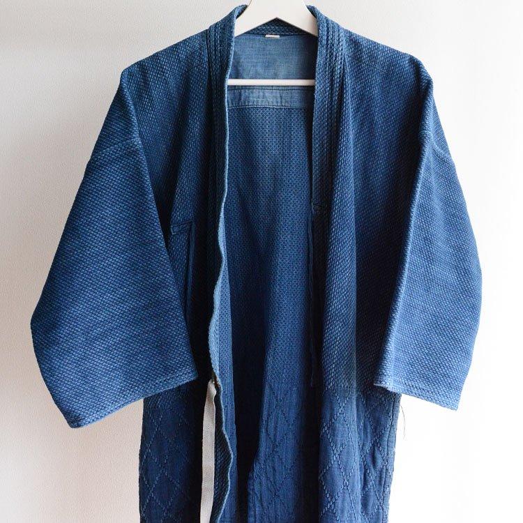 剣道着 藍染 刺し子 二重 ジャパンヴィンテージ 昭和 日本製 | Kendo Jacket Indigo Blue Sashiko Cloth Double Face Made in Japan