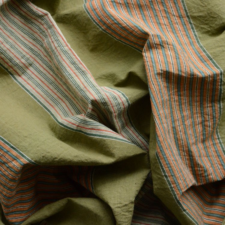 古布 木綿 風呂敷 縞模様 ジャパンヴィンテージ ファブリック 昭和 | Japanese Fabric Vintage Furoshiki Wrapping Cloth 50〜60s