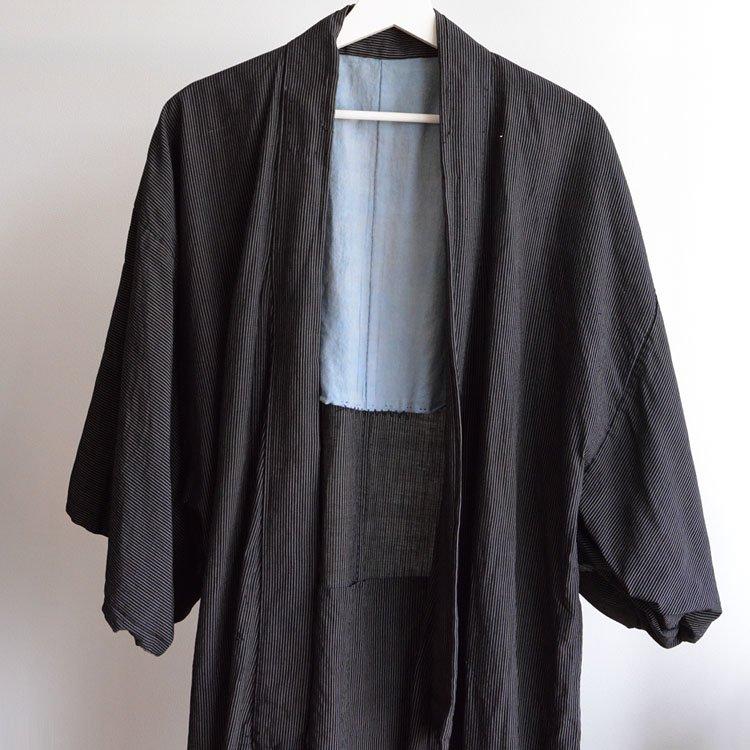 着物 縞模様 襤褸 ジャパンヴィンテージ 30〜50年代 | Stripe Kimono Vintage Japanese 30〜50s