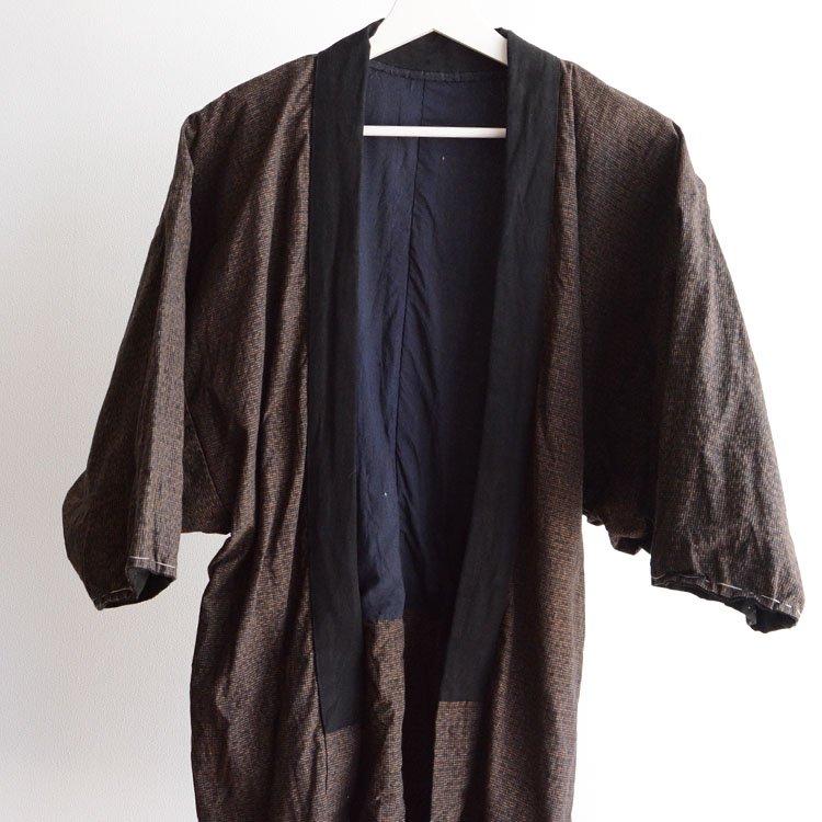 野良着 襤褸 リペア 木綿 着物 ジャパンヴィンテージ 昭和 | Noragi Jacket Japan Men Kimono Vintage