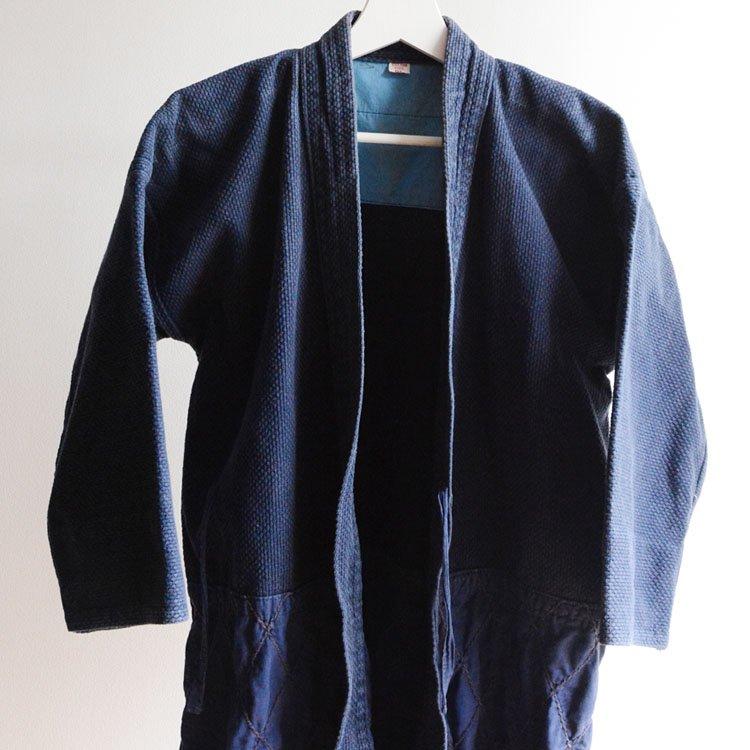 剣道着 刺し子 木綿 ジャパンヴィンテージ 日本製 タネイ 2L | Kendo Gi Sashiko Jacket Made in Japan Vintage