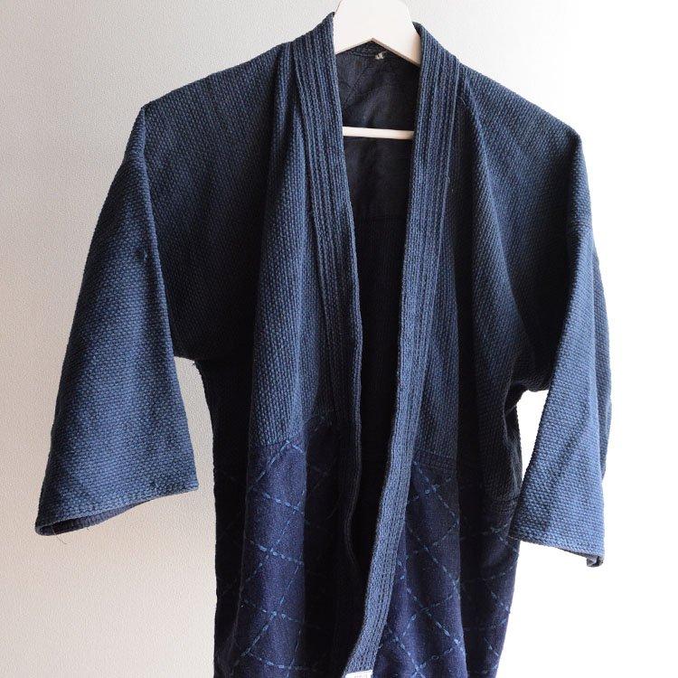 剣道着 刺し子 木綿 ジャパンヴィンテージ ブルドッグ製 昭和 日本製 | Kendo Gi Sashiko Jacket Cotton Bulldog Made in Japan Vintage