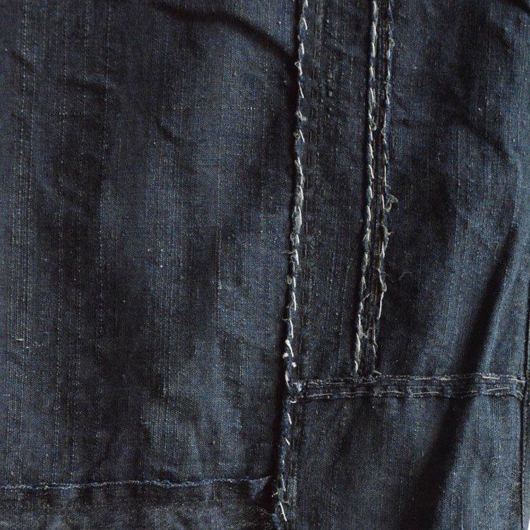 古布 藍染 襤褸 木綿 つぎはぎ ジャパンヴィンテージ 大正〜昭和 | Indigo Fabric Japanese Vintage Boro Patchwork Cotton
