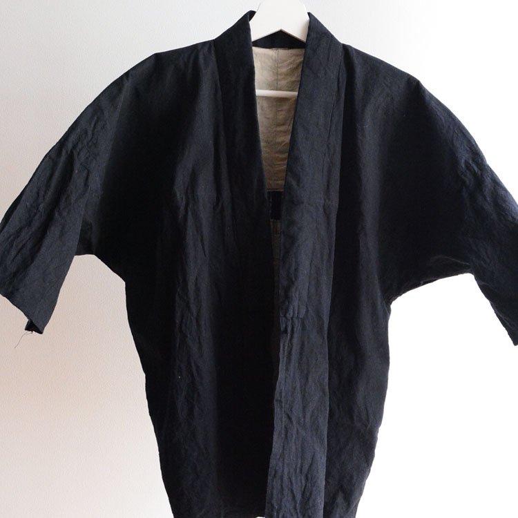 野良着 無地 木綿 着物 ジャパンヴィンテージ 昭和 | Noragi Jacket Men Japanese Vintage Kimono Cotton Plain