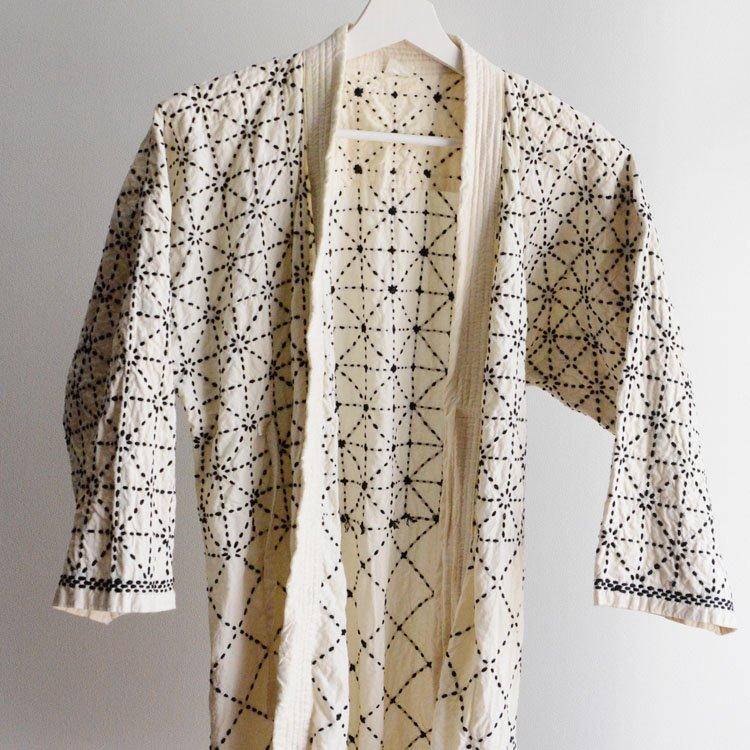 剣道着 六三四刺し 木綿 ジャパンヴィンテージ 昭和 平成 | Kendo Gi Sashiko Jacket Cotton Japan Vintage