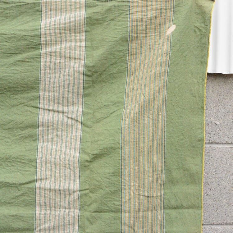 風呂敷 古布 木綿 縞模様 ジャパンヴィンテージ テキスタイル 昭和 | Japanese Fabric Cotton Furoshiki Wrapping Cloth Vintage