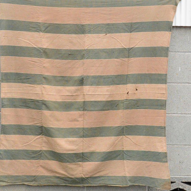 風呂敷 古布 木綿 襤褸 縞模様 ジャパンヴィンテージ ファブリック テキスタイル | Boro Fabric Furoshiki Wrapping Cloth Japan Vintage