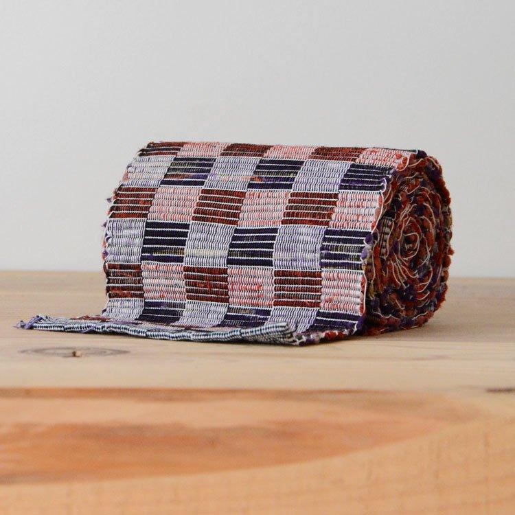 裂き織り 帯 ジャパンヴィンテージ ファブリック テキスタイル 平成 | Sakiori Rug Obi Belt Japanese Fabric Vintage Textiles