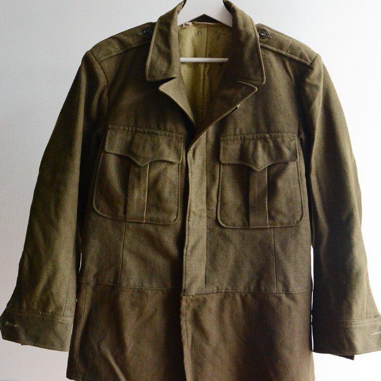 自衛隊初期 制服 アイゼンハワージャケット ジャパンヴィンテージ 米軍実物供与品 | JGSDF Japan Vintage Eisenhower Jacket OD