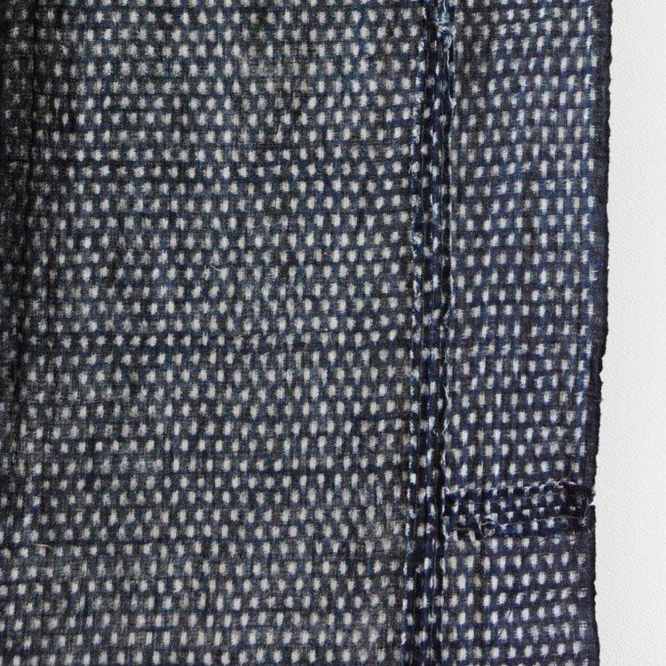 古布 藍染 絣 雪ん子 木綿 ジャパンヴィンテージ ファブリック 継ぎ | Kasuri Fabric Japanese Vintage Indigo Blue Cotton Textile