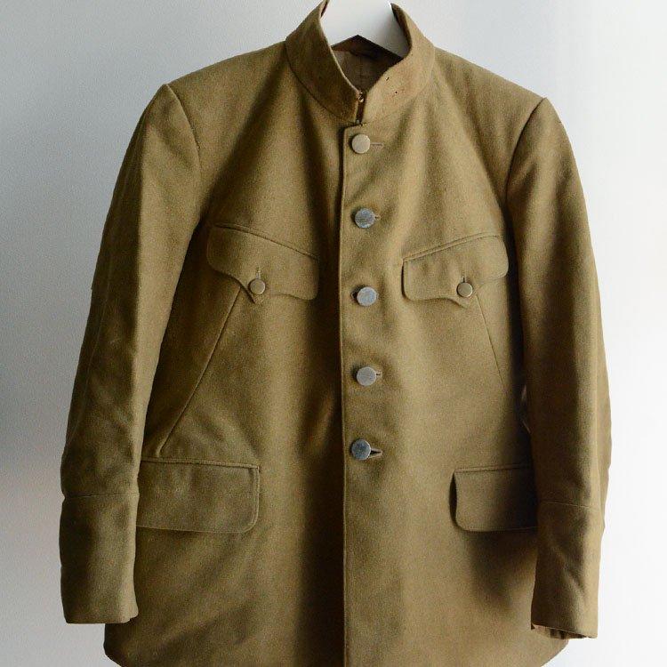 旧日本軍 軍衣 ミリタリージャケット ジャパンヴィンテージ 実物 30年代 | Japanese Military Jacket Vintage Wool 30s
