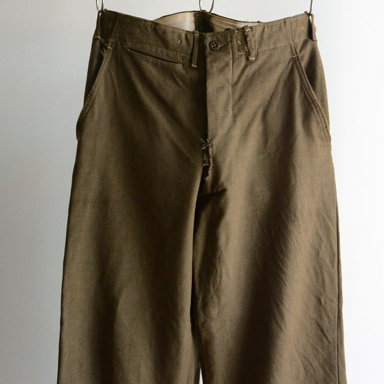 M-45 ウール トラウザーズ パンツ ミリタリー ヴィンテージ 米軍 50年代 | 50s Vintage Wool Trousers Pants U.S.ARMY