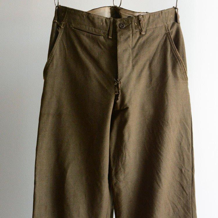 M-45 ウール トラウザーズ パンツ ミリタリー ヴィンテージ 米軍 50年代   50s Vintage Wool Trousers Pants U.S.ARMY